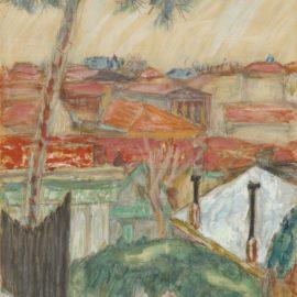Pierre Bonnard-Les Toits