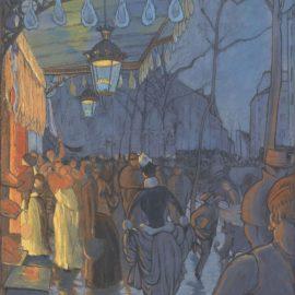 Louis Anquetin-Lavenue De Clichy-1887