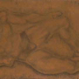 Tsuguharu Foujita-Homme Allonge-1928
