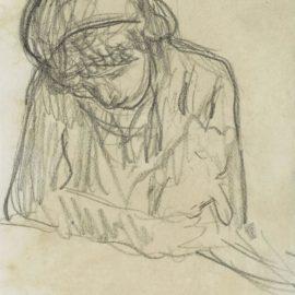 Pierre Bonnard-Jeune Fille, Un Chat Dans Les Bras-1920