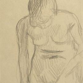 Pierre Bonnard-Nu Debout (Marthe)