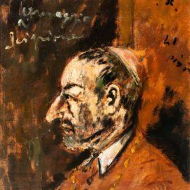 Filippo De Pisis-Ritratto Di S. Carlo Borromeo - Omaggio A Scipione-1941
