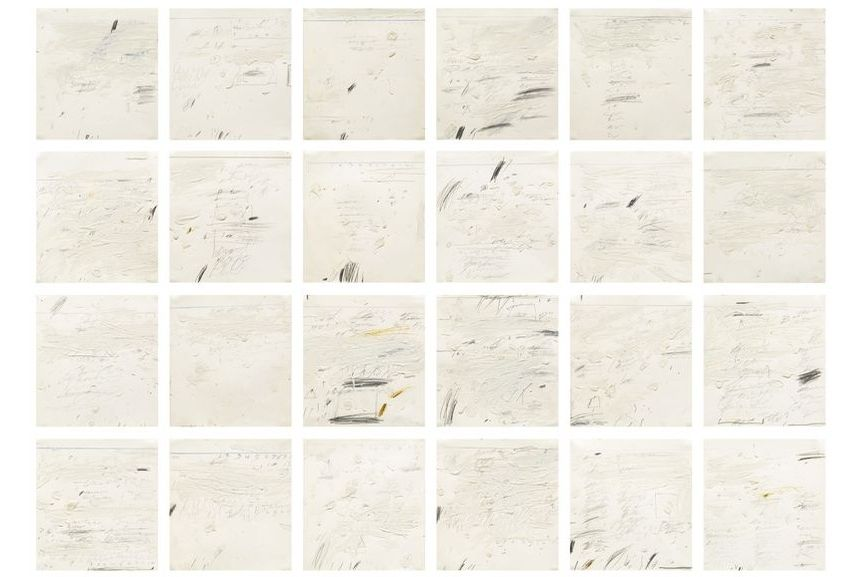 Cy Twombly Poems to the Sea