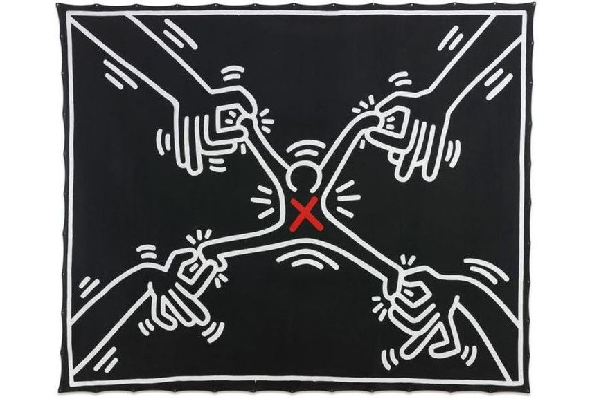Keith Haring Untitled 1985