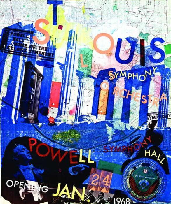 Robert Rauschenberg-Robert Rauschenberg - St Louis Symphonie Orchestra (Poster)-1968