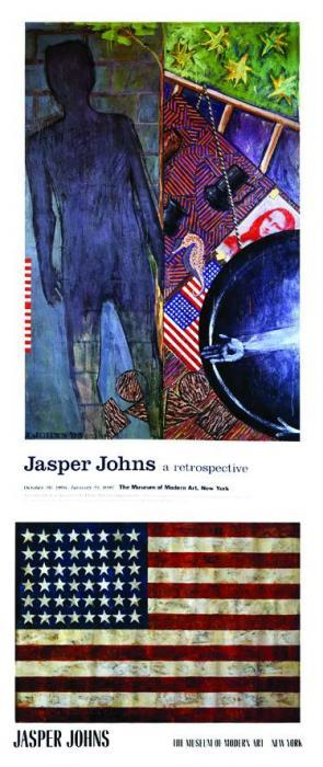 Jasper Johns-Museum of Modern Art - (i) Flagg; (ii) Museum of Modern Art - A Retr-1989