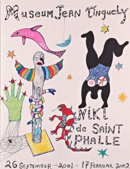 Niki de Saint Phalle-Exposition Musee Jean Tinguely - Niki De Saint-Phalle, 26 sep-2001