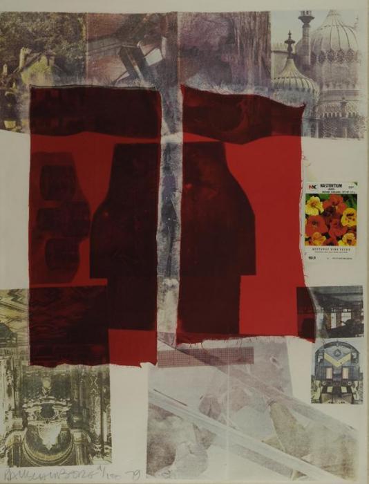 Robert Rauschenberg-Robert Rauschenberg - Why You Can't Tell # 2-1979
