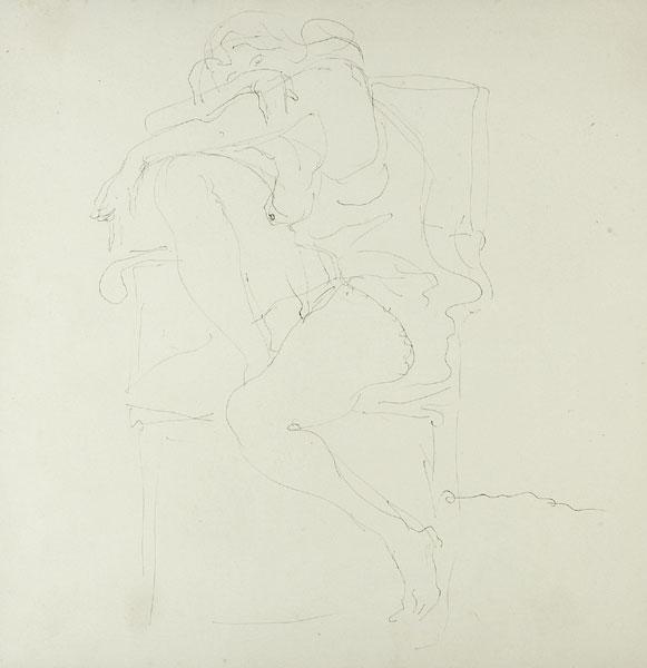 Lucio Fontana-Disegno-1959