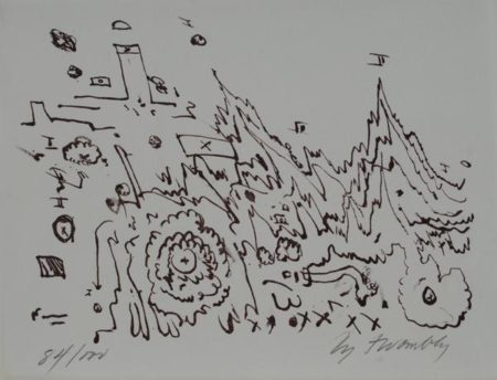 Cy Twombly-Senza titolo-1961