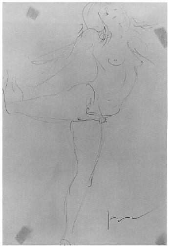 Lucio Fontana-Figura-1957