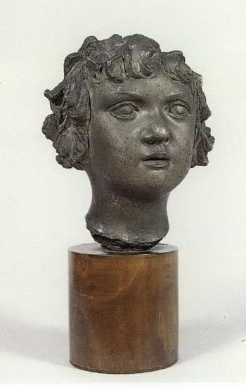 Lucio Fontana-Ritratto di bambina-1929