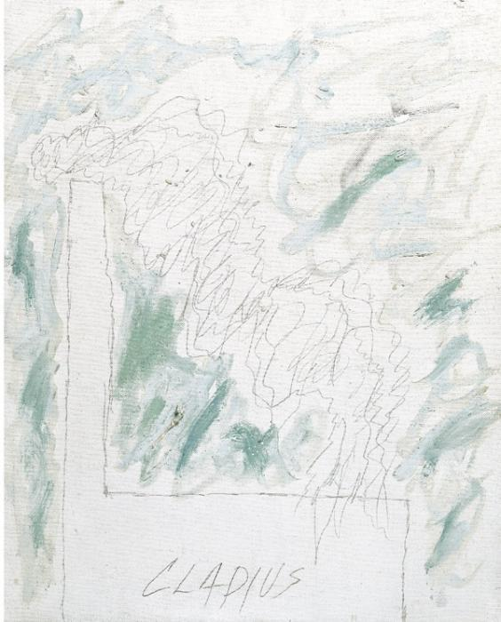 Cy Twombly-Cladius-1963