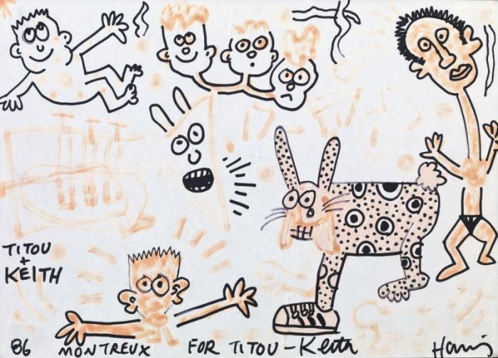 Keith Haring-Keith Haring - Senza titolo-1986