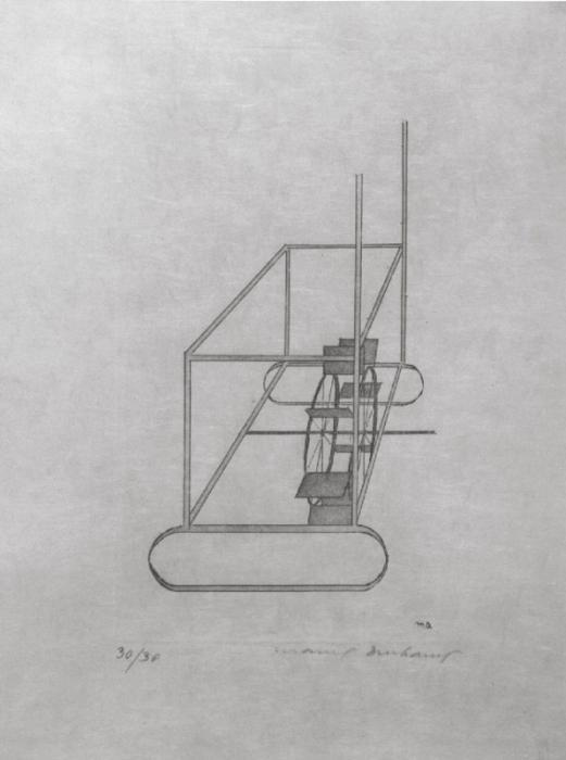 Marcel Duchamp-The Water MIll-