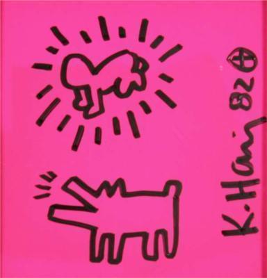 Keith Haring-Keith Haring - Senza titolo-1982