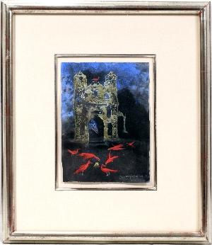 Leonora Carrington-Red Birds of Neath-1996