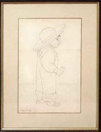 Diego Rivera-Nino con sombrero-