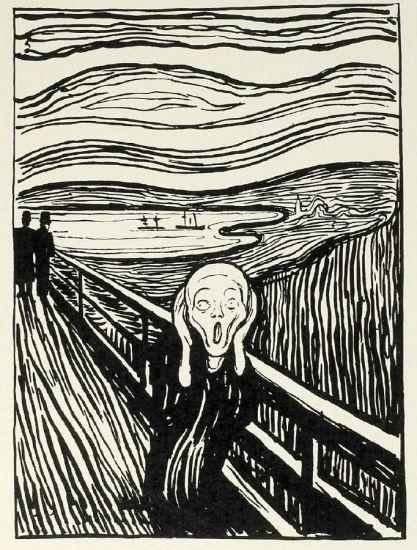 Edvard Munch-Der Schrei-