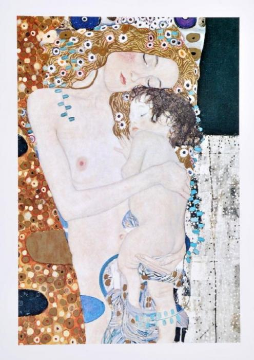 Gustav Klimt-The Three Ages Of Woman-