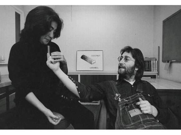 Annie Leibovitz-John Lennon et Yoko Ono, New York-1970