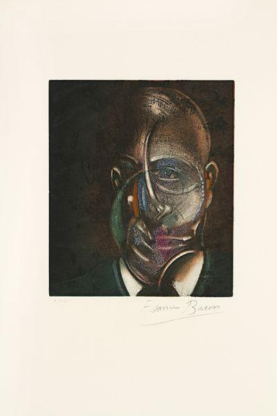 Francis Bacon-Portrait De Michel Leiris-1978