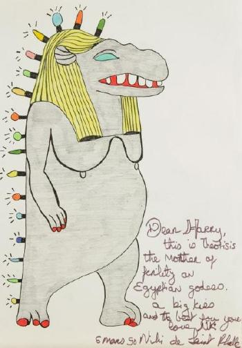Niki de Saint Phalle-Theotisis, the mother of fertility-1990
