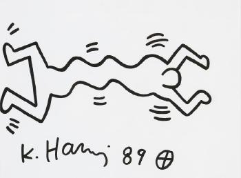 Keith Haring-Keith Haring - Personnage dansant-1989