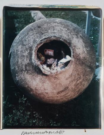 Robert Rauschenberg-Robert Rauschenberg - Sans titre (Untitled)-1987