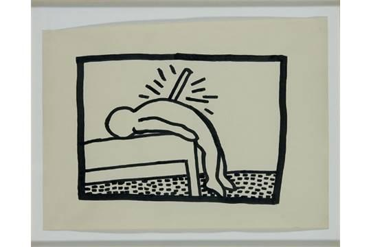 Keith Haring-Keith Haring - Untitled (P.S 122 New York)-1980