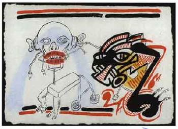 Keith Haring-Keith Haring - Figures-1987