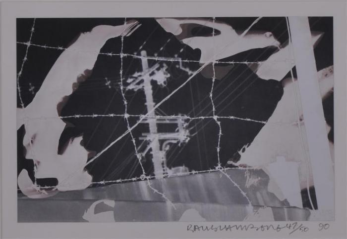 Robert Rauschenberg-Robert Rauschenberg - Indomitable Spirit-1990