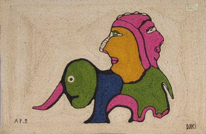 Niki de Saint Phalle-Jute Wall Hanging-