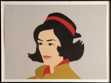 Alex Katz-Ada in a Black Hat / Ada in Hat-1990