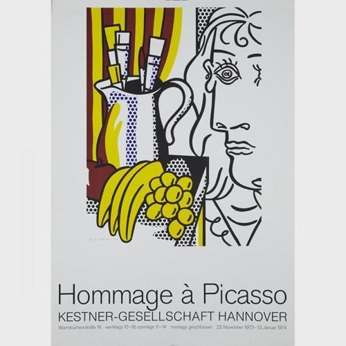 Roy Lichtenstein-Hommage a Picasso; Hey you-