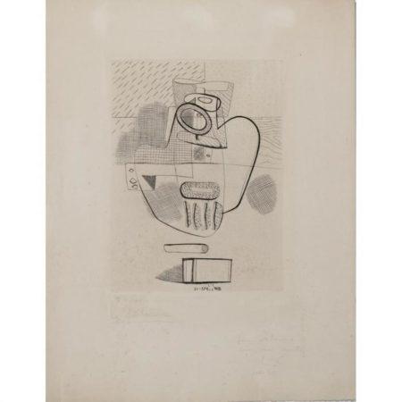 Le Corbusier-Nature morte-1948