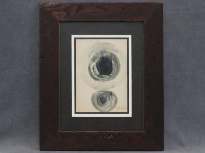Lucio Fontana-Abstract-