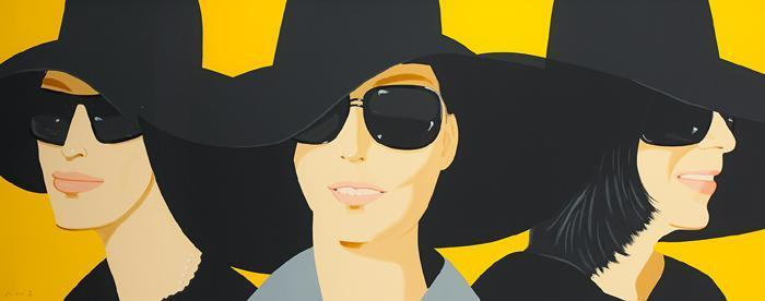 Alex Katz-Black Hat IV-2012