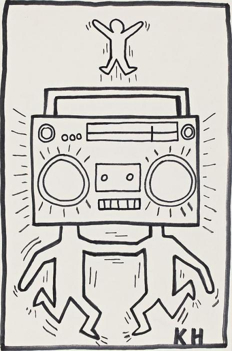 Keith Haring-Keith Haring - Radio Men-