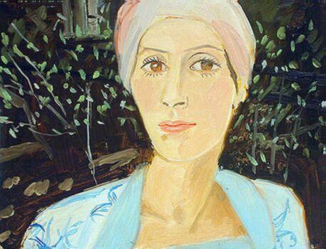 Alex Katz-Karalyn, Study No. III-1976
