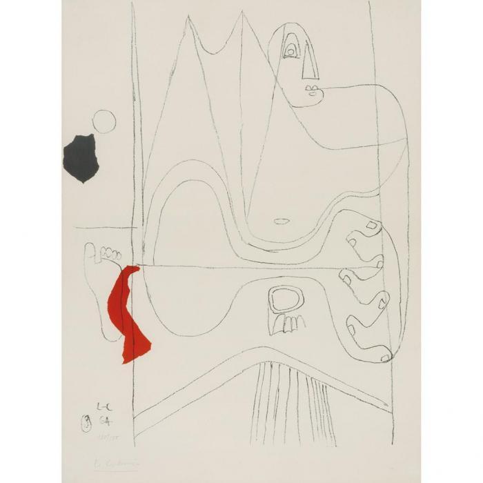 Le Corbusier-Composition-1964