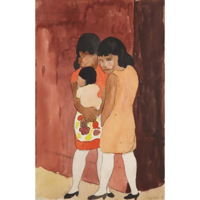 Diego Rivera-Women-1931