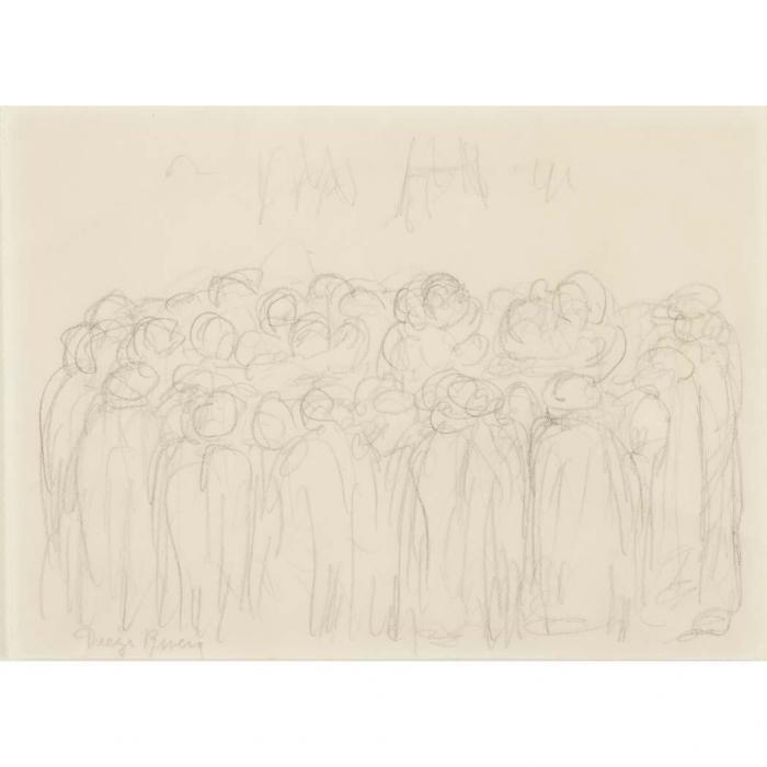 Diego Rivera-Gathering-
