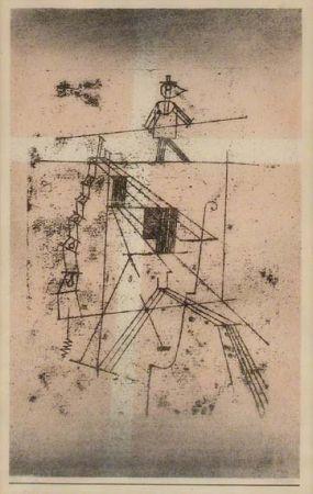 Paul Klee-Der Seiltanzer (From Portfolio Kunst Der Gegenwart)-1923