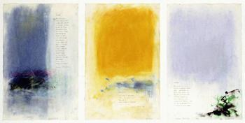 Joan Mitchell-Sunset; Daylight; Sunday-