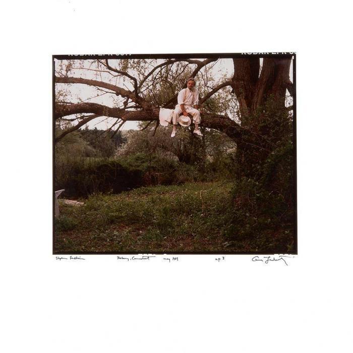 Annie Leibovitz-Stephen Sondheim, Roxbury, Connnecticut-1989