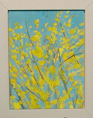 Alex Katz-Forsythia #2-1997