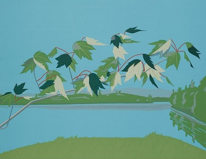 Alex Katz-Late July I (Maravell, Schroder 38)-1971