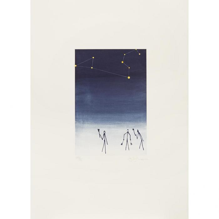 Jasper Johns-Leo, from Leo Castelli 90th Birthday Portfolio-1997