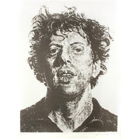 Chuck Close-Phil, Fingerprint-1981